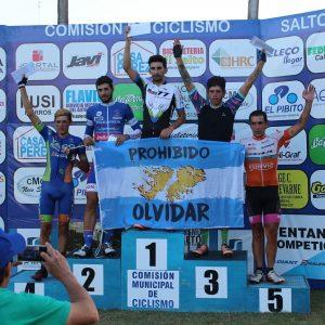 Ciclismo en Salto y Pergamino con presencia de corredores sampedrinos