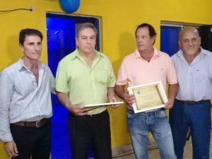 Sportivo América festejó con un vino de honor su 70° Aniversario