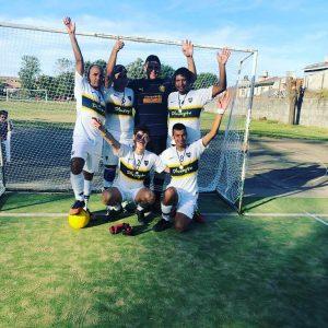 Fútbol para ciegos: Boca jugó un cuadrangular con  Velo, Salomón y Greco