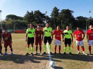 Árbitros de San Pedro en una semifinal del Torneo Regional