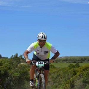 Mauro Millet compite en el Desierto de Atacama
