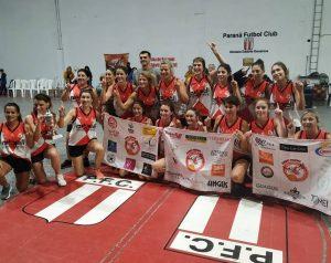 Paraná gritó campeón en el Cuadrangular femenino