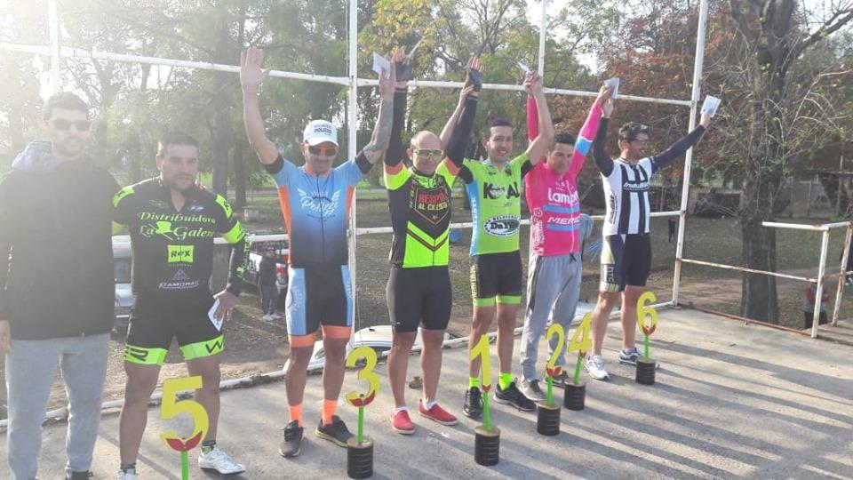 Ariel Guerra ganó en Zárate. Varios ciclistas de nuestra ciudad participaron del festival