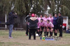 Fútbol Femenino: La quinta fecha se juega en el Club El Tanque
