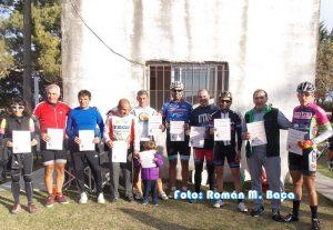Hubo reconocimientos para los ciclistas que participaron del Argentino en C. del Uruguay