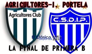 Fútbol local: Agricultores-I. Portela será transmisión de El Clásico por FM Génesis