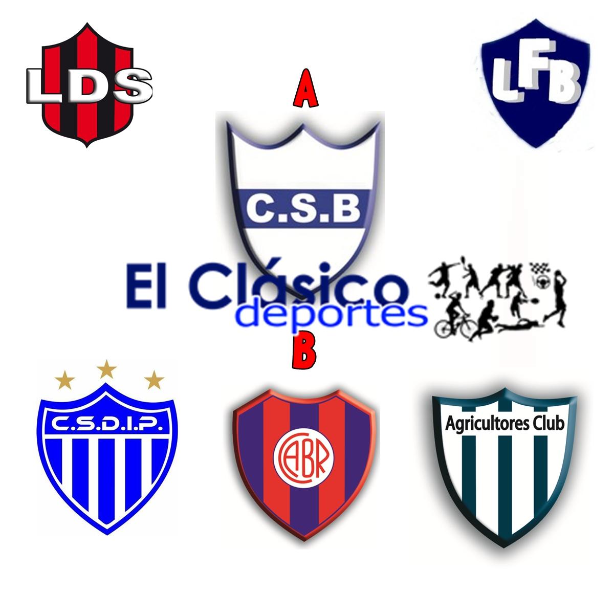 Las posiciones en todas las divisiones del fútbol local
