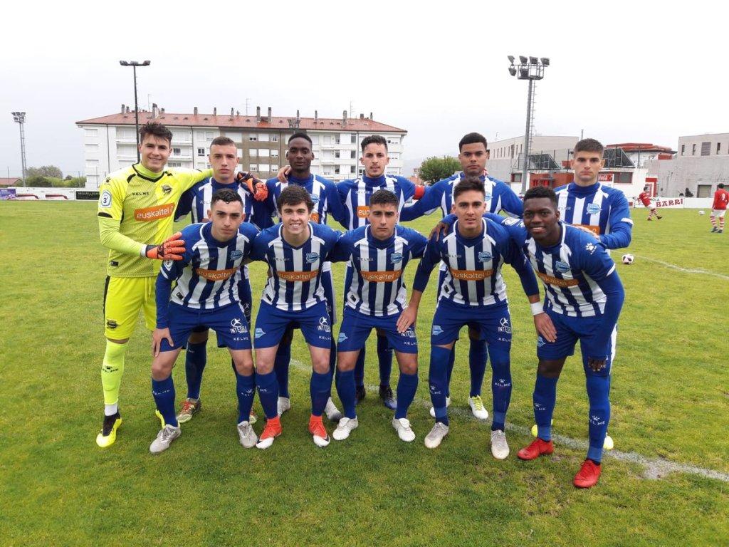 Tomás Oneto titular en el Deportivo Alavés «B»