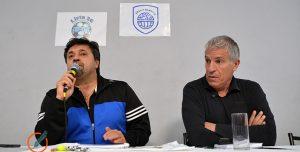Carusso Lombardi y Labruna en una charla abierta