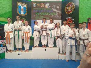 Delegación de la ASK con excelentes resultados en Avellaneda