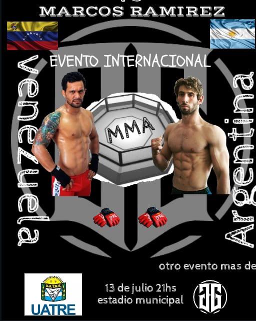 MMA: Damián Múñoz enfrenta el 13 de julio a un venezolano