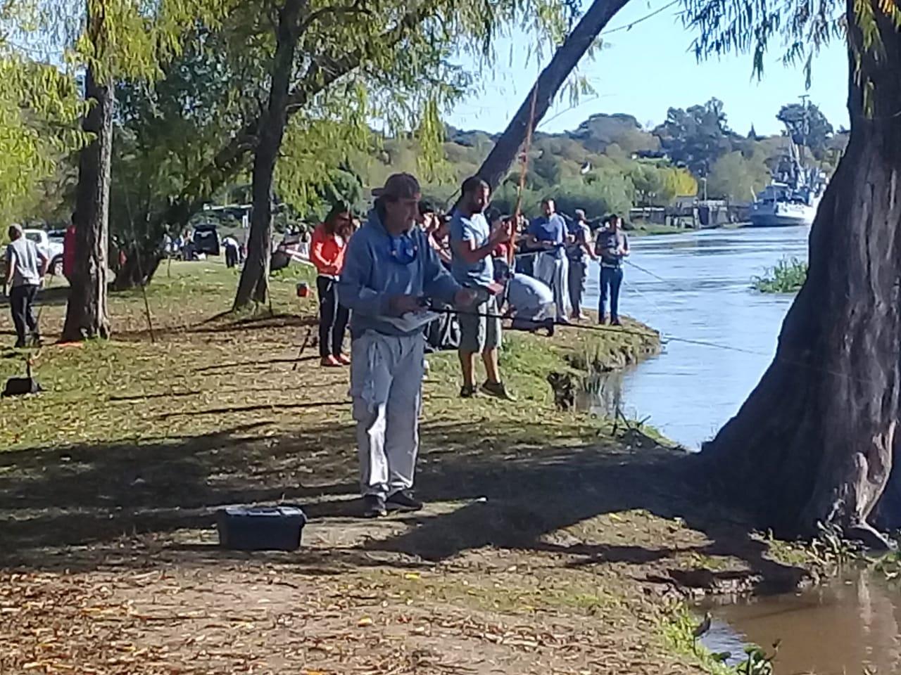 Se realizó la segunda fecha del concurso de Pesca variada de río