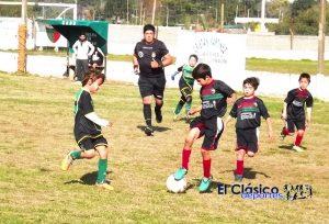 Baby fútbol: Def. Unidos-San Roque pusieron al día el Apertura