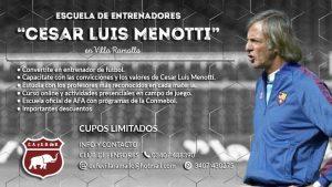 Curso de Director Técnico de fútbol en Villa Ramallo