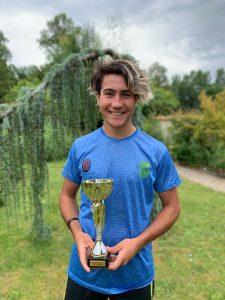 «Nacho» Novo fue subcampeón en Francia