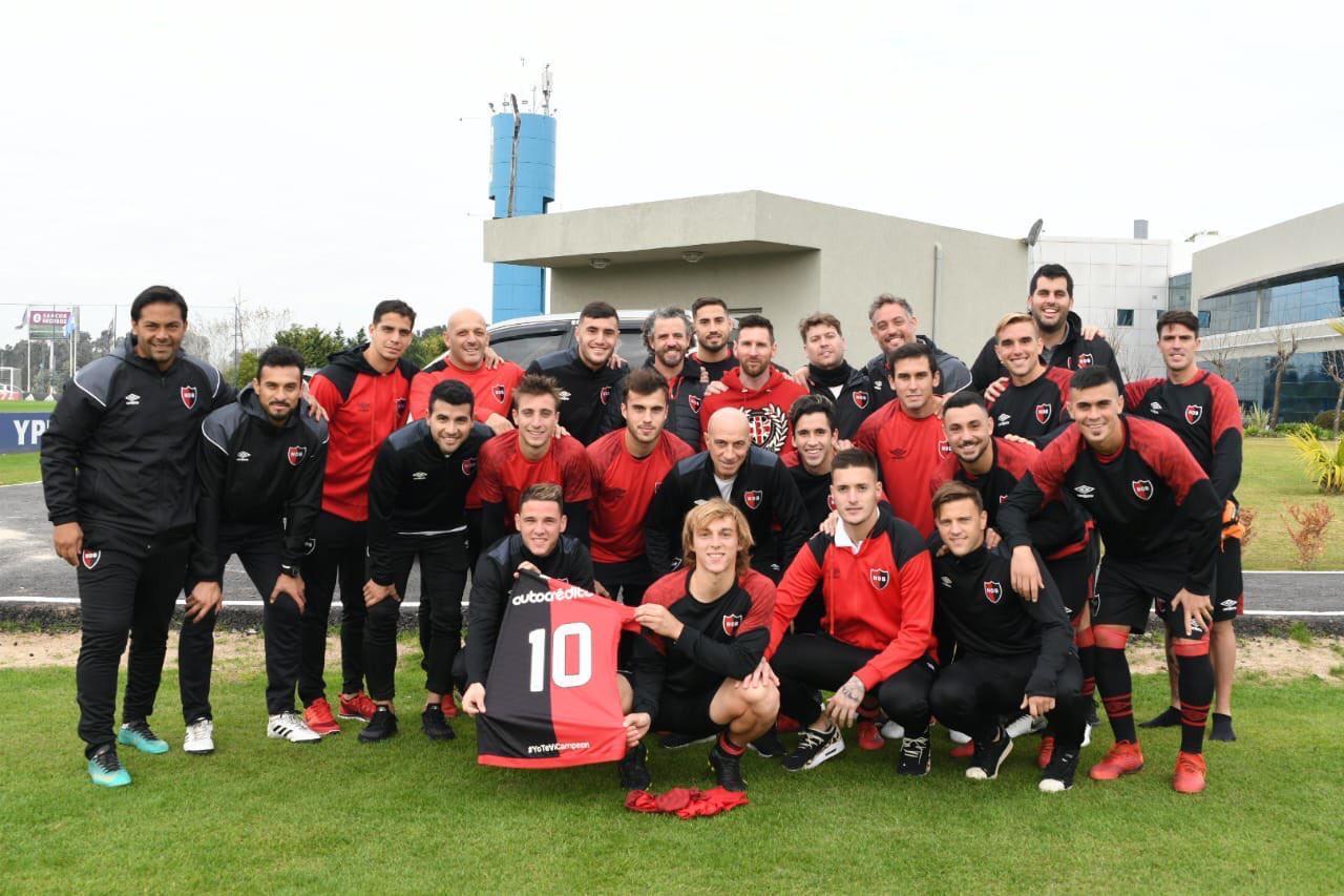 En este momento estás viendo Gabriel Báez Corradi en Ezeiza. Newell's jugó ante la Selección Nacional