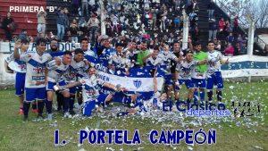 Social y Deportivo Ireneo Portela es de la «A». ¡CAMPEONES!