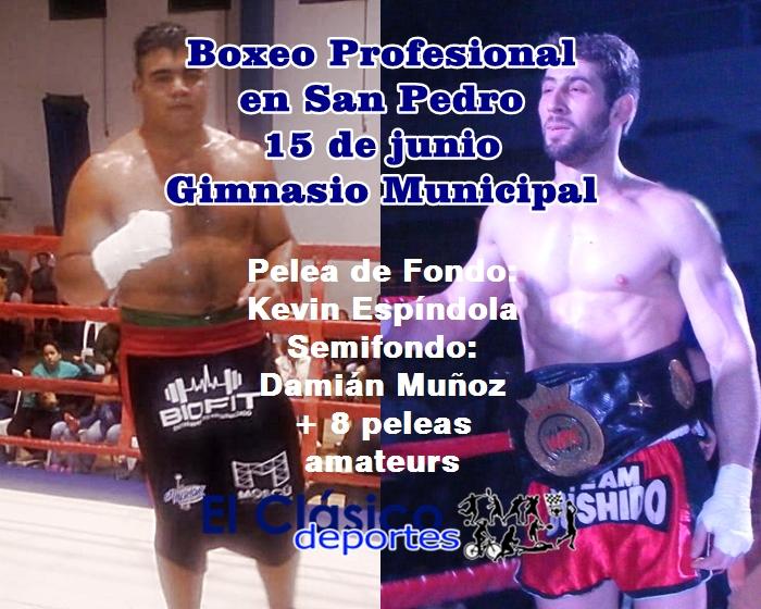 Boxeo Profesional: Se acerca una gran noche en San Pedro