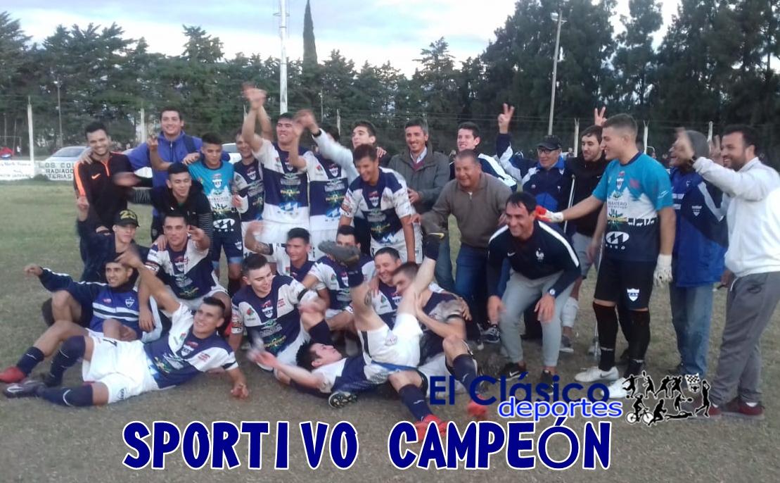 En este momento estás viendo ¡Sportivo campeón del Torneo Apertura!