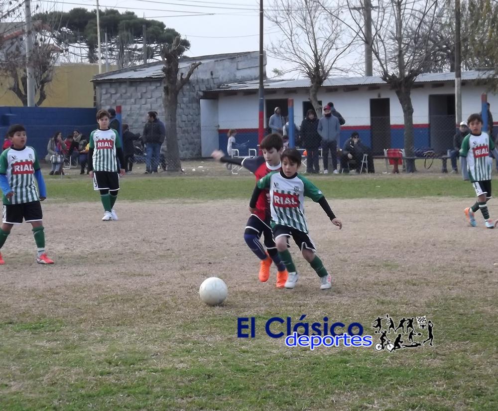 Fútbol infantil: Todos los resultados de la 17° fecha