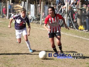 Liga femenina de fútbol: El «Santo» sigue liderando en soledad