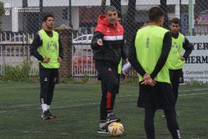 Sebastián Ramírez entre los concentrados para el partido de Copa Argentina