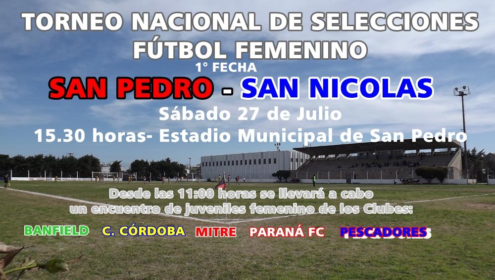 El sábado juega la Selección femenina a las 15:30 horas