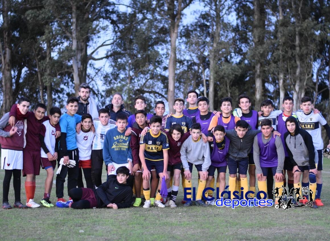 Talleres (C) realizó una nueva prueba de jugadores en Villa Ramallo