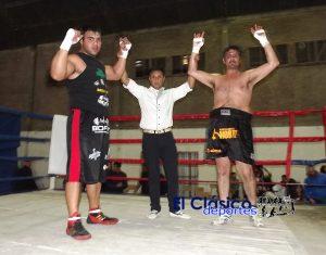Boxeo: Kevin Espíndola por KO y Laureano Ubiedo técnico, ambos en el 3°