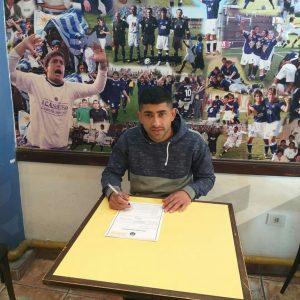 Alejandro Monzón firmó con Acassuso
