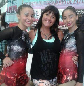 Patín: Sofia Baca se consagró campeona