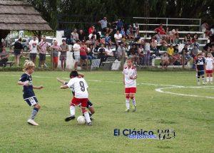 Cuatro fechas finales para el Apertura de Baby Fútbol