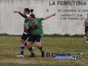 Liga local de fútbol femenino: Se juega el domingo en Sportivo Baradero