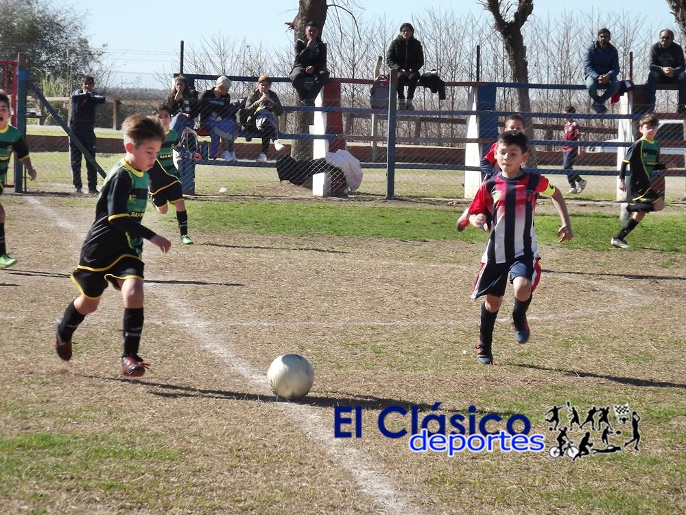 La Liga Infantil reanudó el Apertura. Resultados y posiciones