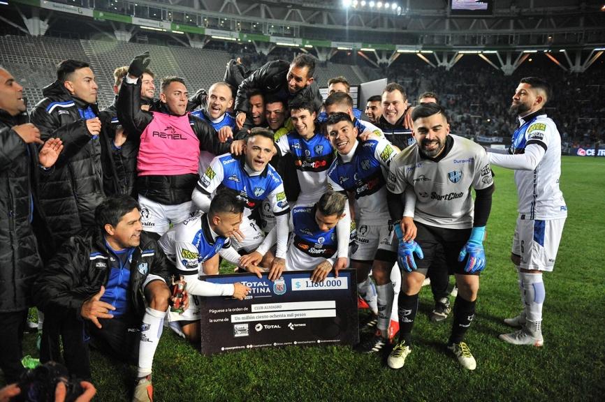 Almagro, de la B Nacional, derrotó a Boca por Copa Argentina