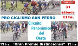 Lee más sobre el artículo Ciclismo en San Pedro: Retorna la actividad al «Panorámico»