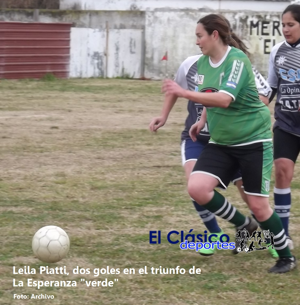 Fútbol femenino: La Esperanza a paso firme