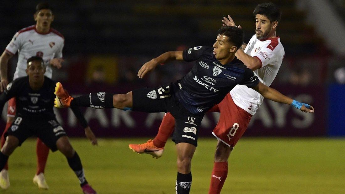 Copa Sudamericana: Independiente cayó ante su homónimo ecuatoriano