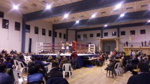 Domingo de boxeo en el gimnasio municipal con tres títulos en juego
