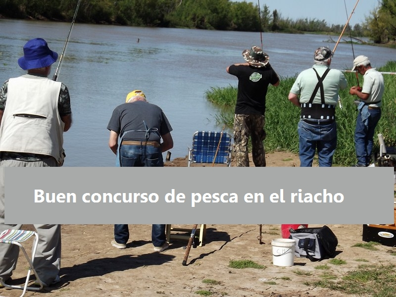 Fernando Biglia ganó el concurso de Pesca