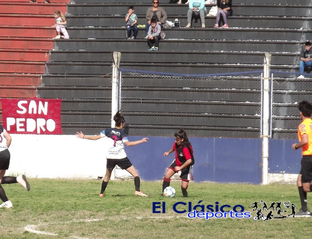 Nacional femenino: Ajustada derrota de San Pedro ante San Nicolás