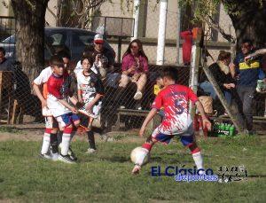 Fútbol infantil jugó la tercera fecha del Clausura