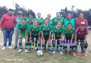 Fútbol femenino: La Esperanza con ventaja a la última fecha