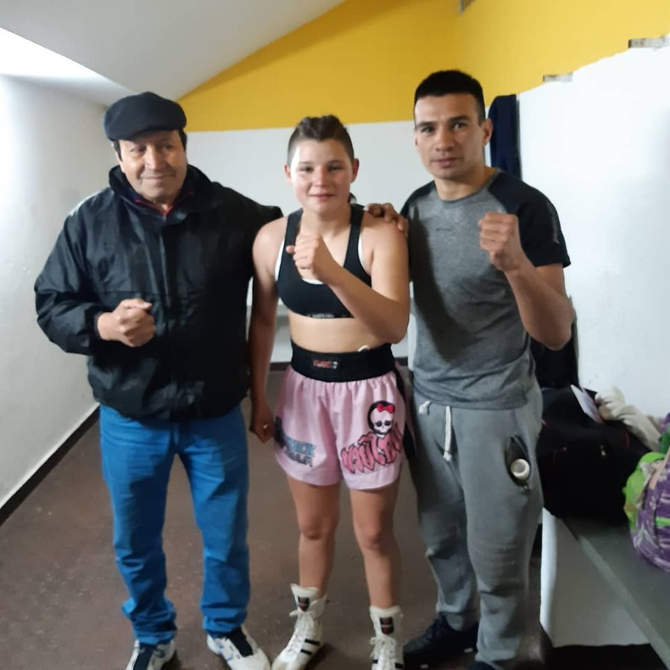 Boxeo local: Brisa Alderete empató en Pergamino