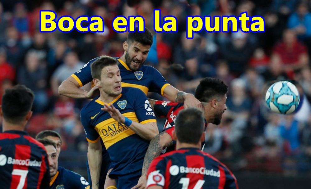 Superliga: Boca derrotó a San Lorenzo