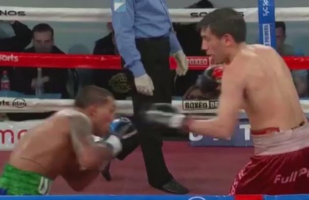Boxeo nacional: Castillo retuvo el sudamericano