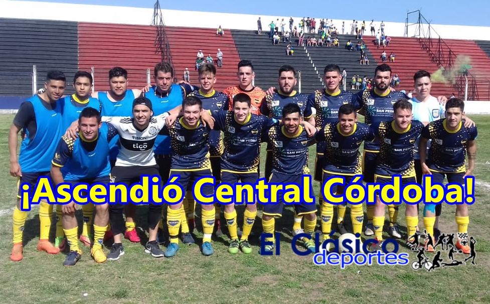 En la última bola del partido Central Córdoba grito fuerte ¡soy de primera!