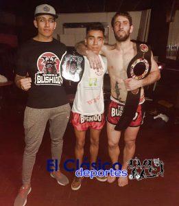 Damian Muñoz se consagró campeón mundial de Muay Thai