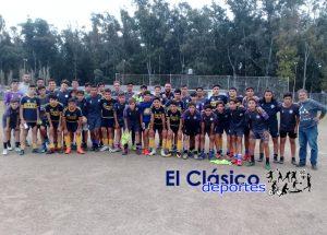 40 chicos de San Pedro jugaron ante Villa Dálmine en dos categorías