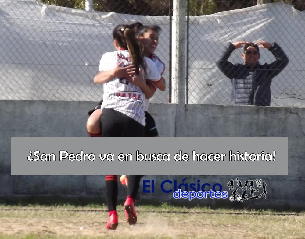 San Pedro y San Nicolás abren los cuartos de final del nacional femenino